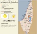 Kingdom of Jerusalem Map, 2015 (Christian Levant)