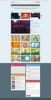 Webbica - Single Page Folio by vBabic