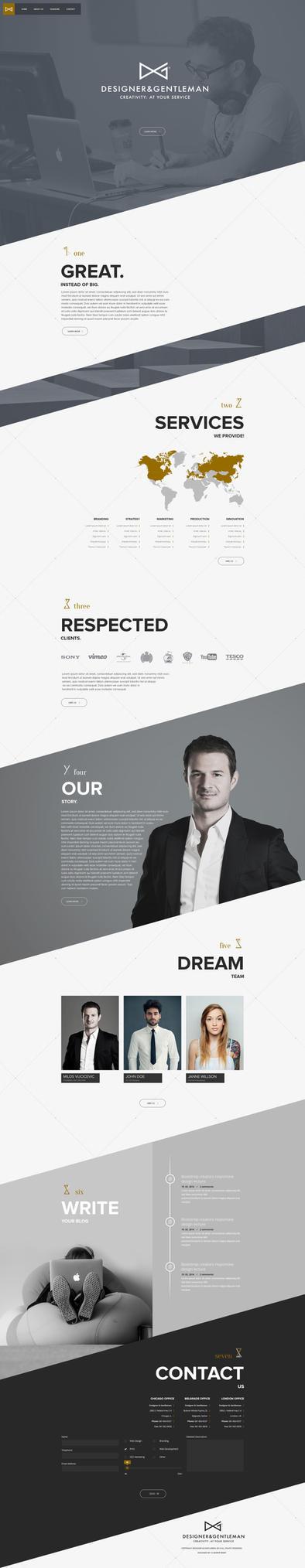 Designer and Gentleman by vBabic