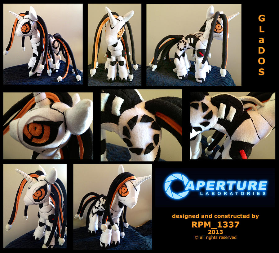 My-Little-Plushie Crossover Pony Constest: GLaDOS by rpm1337