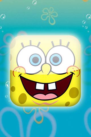 iPhone SpongeBob wallpaper 2 by ioanniskar