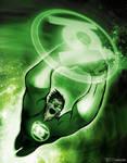 hal jordan green lantern by artist Tom Kelly