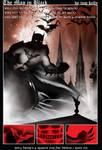 batman in black pg1 by artist Tom Kelly