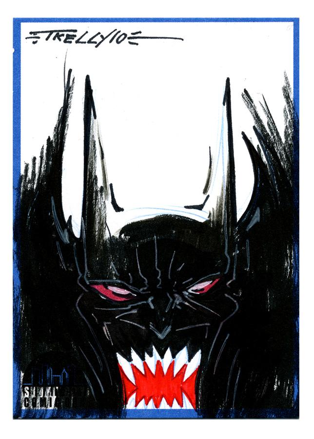 Evil Batman Card by TomKellyART on DeviantArt