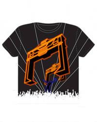 TRON T-shirt design by TomKellyART