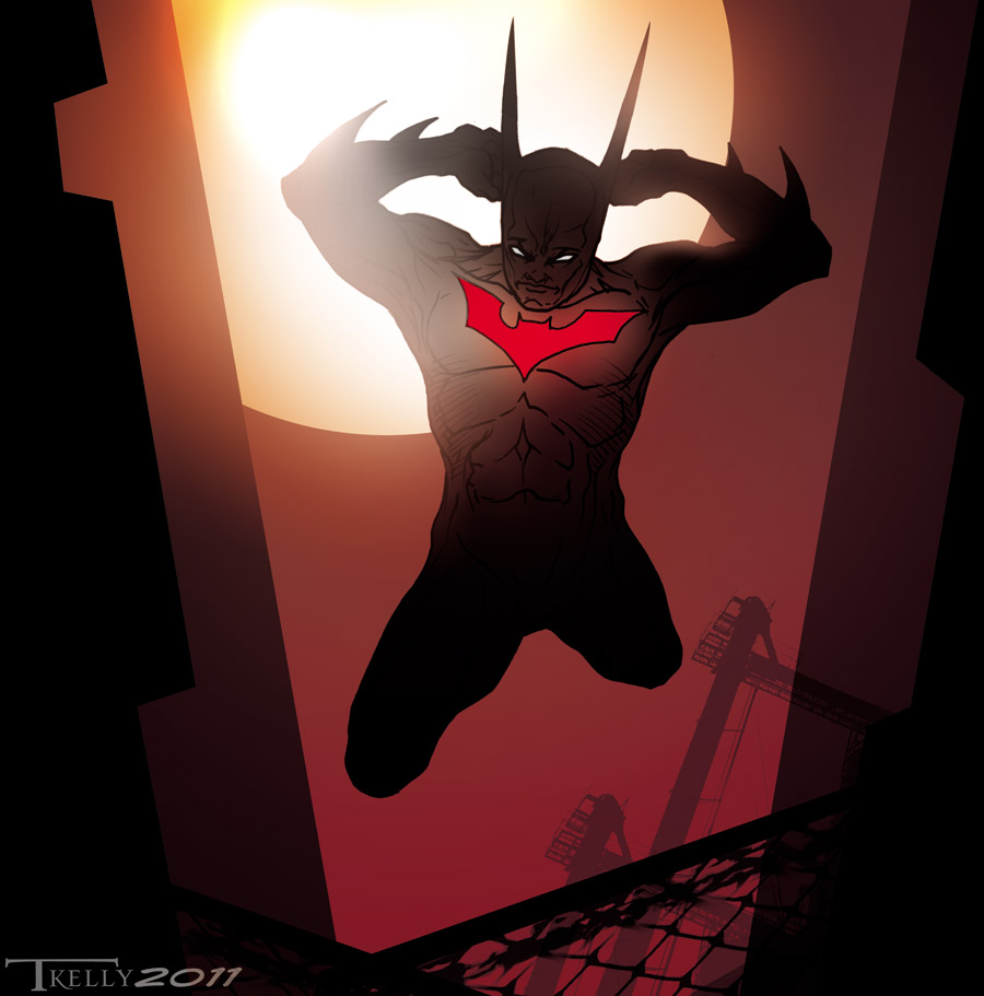 batman Beyond quicky by artist Tom Kelly