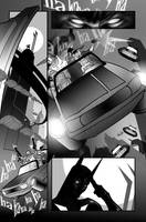 batman Beyond gray pg1 by TomKellyART