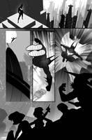 batman Beyond gray pg3 by TomKellyART