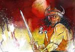 Conan with Sword