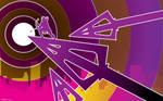 Hawkeye Arrowhead by artist Tom kelly