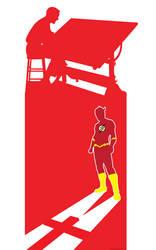 Flash Carmine Infantino by TomKellyART