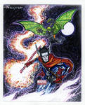 Hulkling And Wiccan by TomKellyART