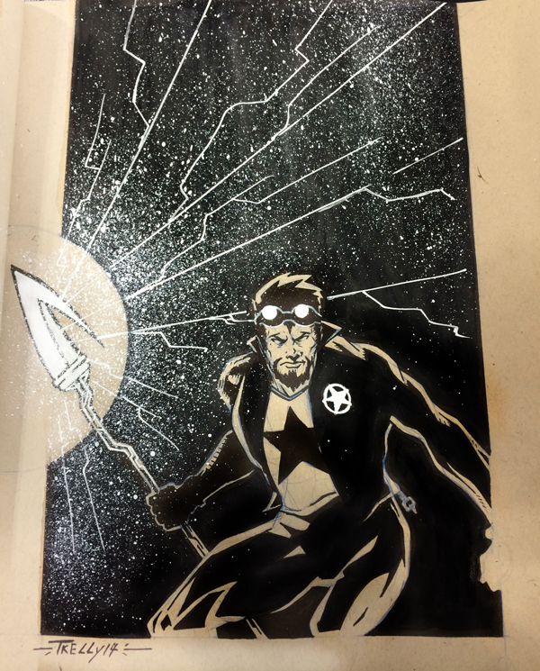 Starman sketchbook commission NYCC by TomKellyART