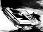 Batman grand theft gotham by artist Tom Kelly