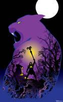 skeletor Panthor by artist Tom Kelly by TomKellyART