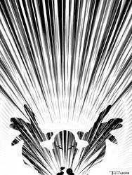 Xray power blast by artist Tom Kelly by TomKellyART