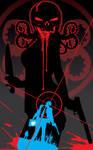 Shield hydra's shadow by Artist Tom Kelly
