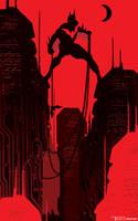 Beyond Megadawn by artist Tom kelly by TomKellyART