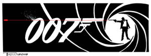 Bond Line Of Sight by artist Tom Kelly