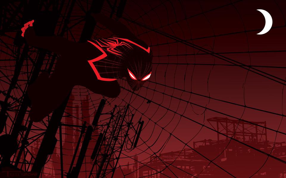 Miles Morales Spiderman by artist Tom Kelly