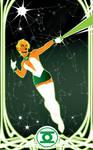 Arisia GL-Power by Tom Kelly by TomKellyART