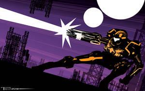 Metroid Megablast by Tom Kelly by TomKellyART