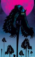 Flock of Owlbears by Tom Kelly by TomKellyART