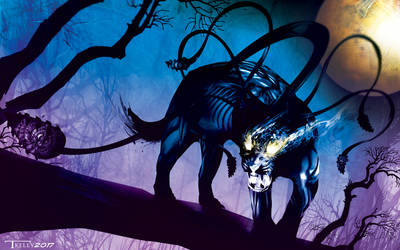 Displacer Beast by Tom Kelly