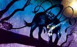 Displacer Beast by Tom Kelly
