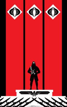 Cobra Commander Hail Cobra by Tom Kelly