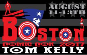 Boston Con Promo 2017 by Tom Kelly by TomKellyART