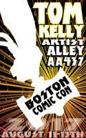 Tom Kelly at Boston Comic Con 2017 2nd pro by TomKellyART