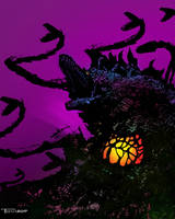 Biollante Weed Killer by Tom Kelly by TomKellyART