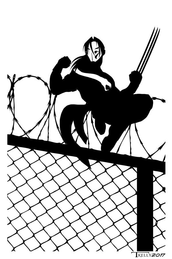 Vega Cage Match by Tom Kelly by TomKellyART
