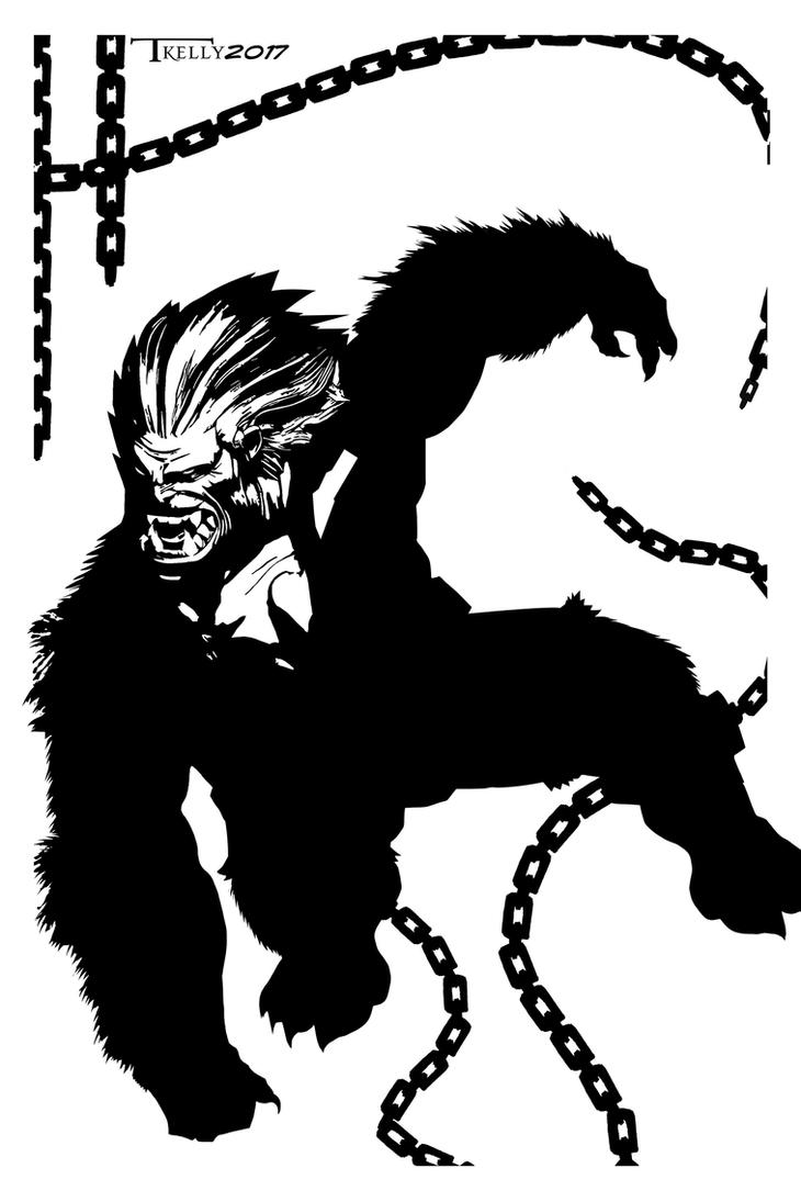 Blanka unchained By Tom Kelly by TomKellyART