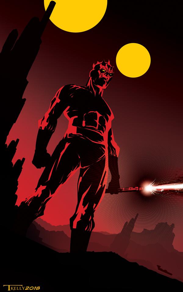 Blood Red Dawn By Tom Kelly by TomKellyART