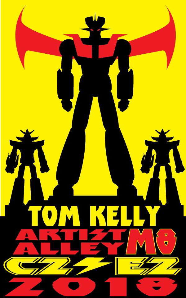 robo promo 2018 by Tom Kelly by TomKellyART