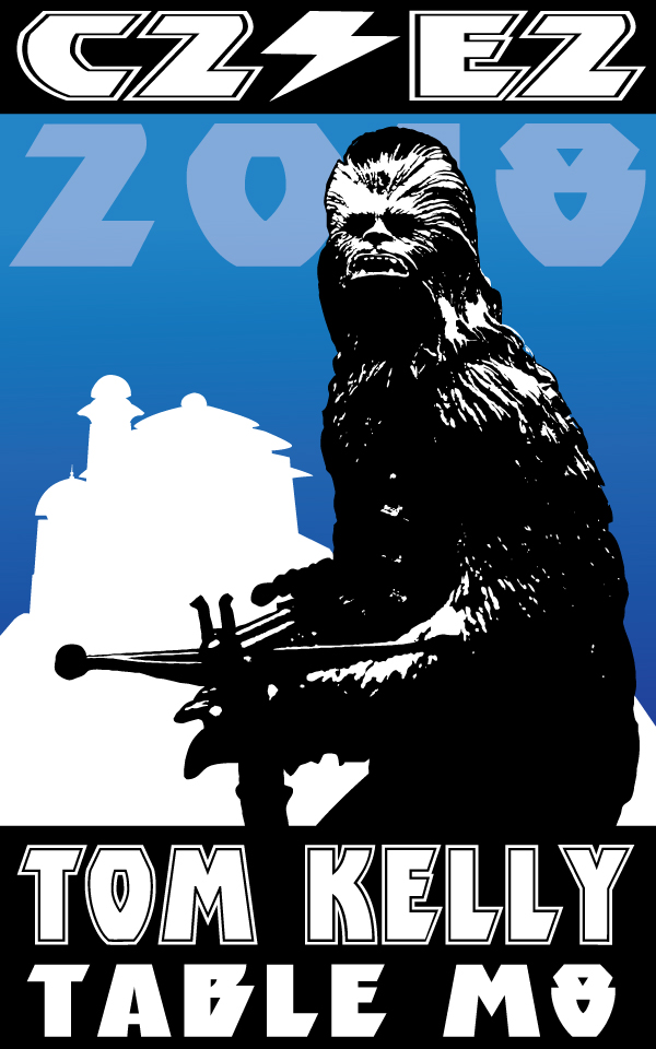 Chewbacca promo By Tom Kelly by TomKellyART