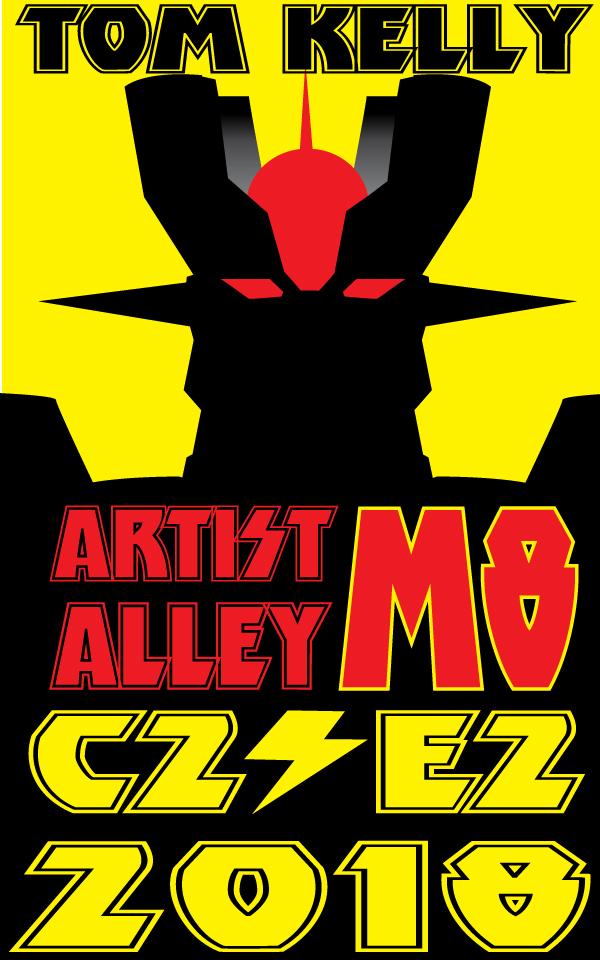 Mazinger promo beta by Tom Kelly by TomKellyART