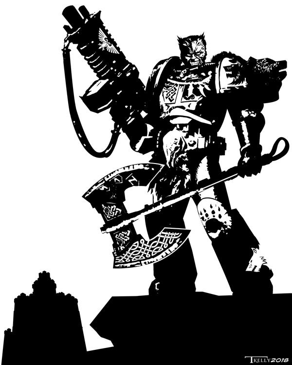 Bulveye the Berserker by Tom Kelly by TomKellyART