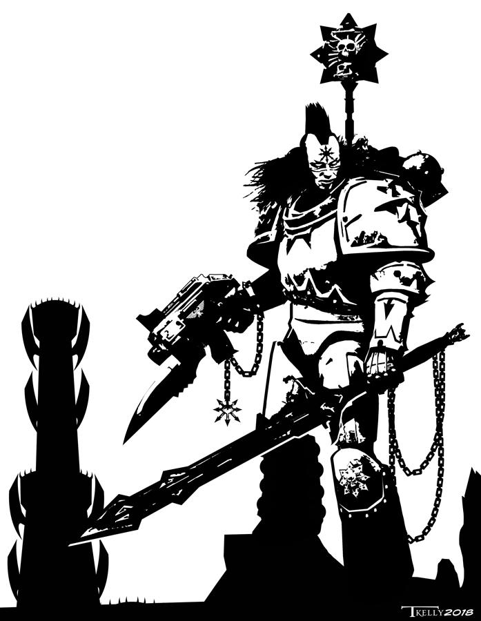 Black Legionnaire by Tom Kelly by TomKellyART