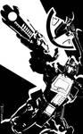 Optimus Prime Obsidian by Tom Kelly