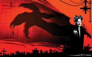Dracula Shadow Claw by Tom Kelly by TomKellyART