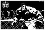 Zangief Cage by Tom Kelly