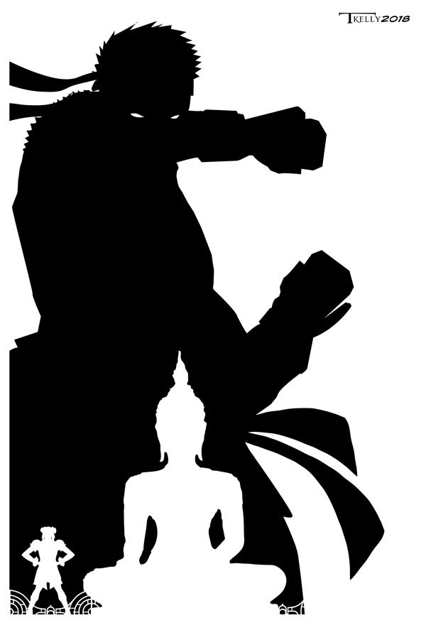 Ryu Shadow by Tom Kelly by TomKellyART