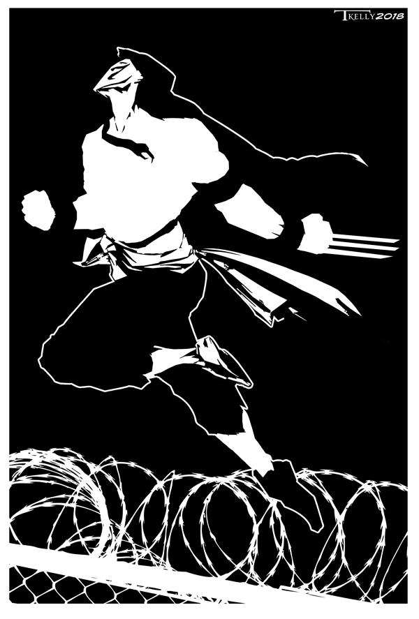 Vega Jump by Tom Kelly by TomKellyART