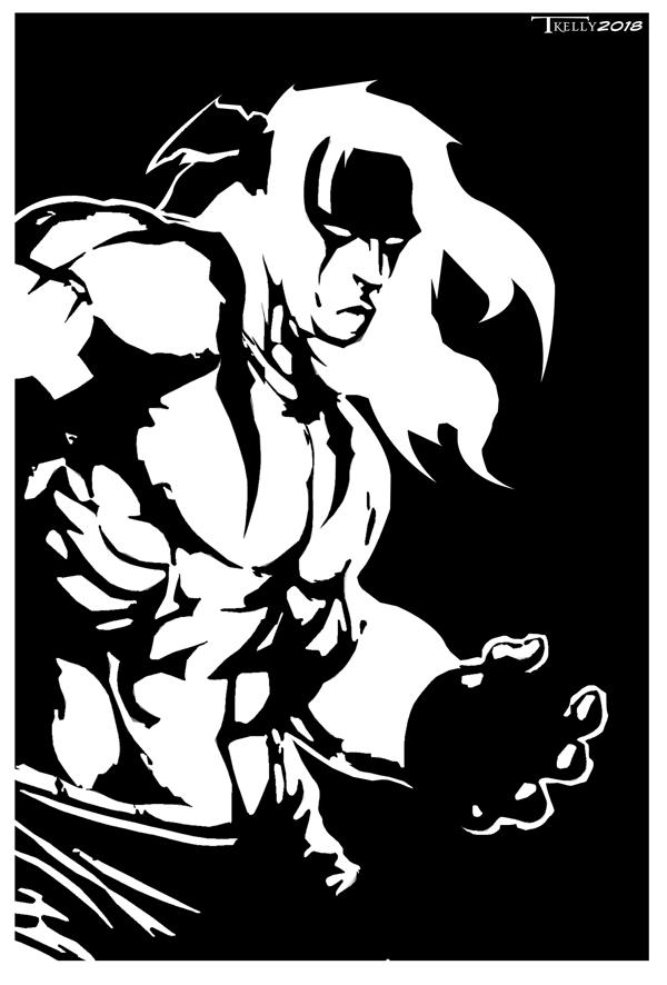 Alex Streetfighter by Tom Kelly by TomKellyART