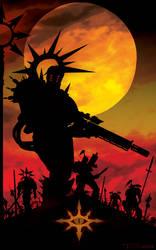 Warband Black Legion by Tom Kelly by TomKellyART