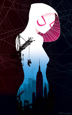 Spiderverse Gwen by Tom Kelly