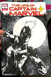 Sketch Cover Cap Marvel by Tom Kelly by TomKellyART